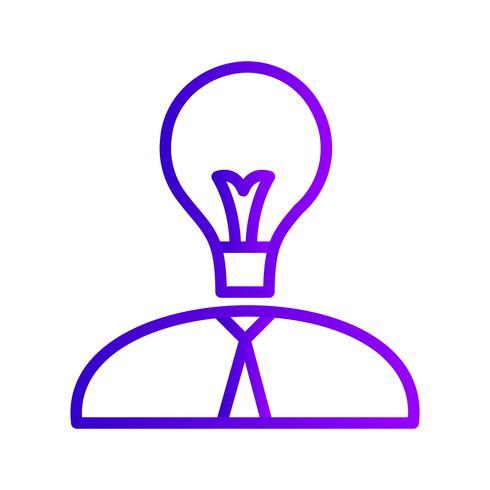 icône de vecteur homme creavite