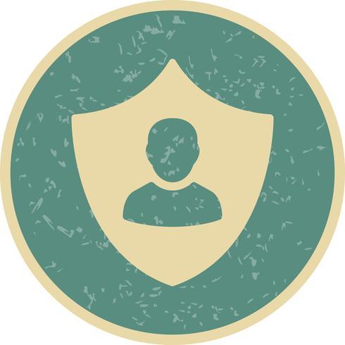 Icono de Vector de protección empresarial