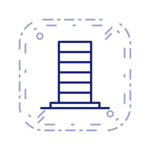 skycraper vector pictogram