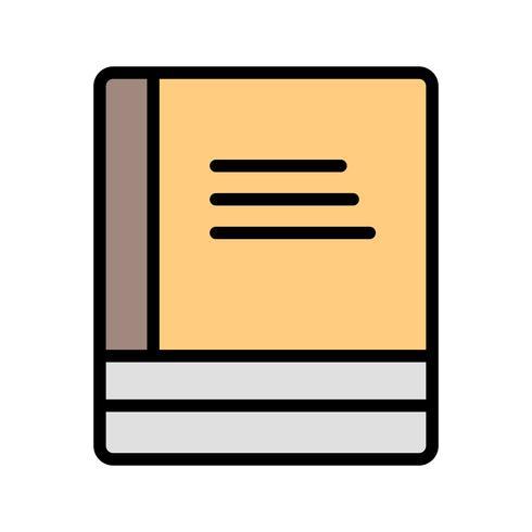 Vector icono de libros