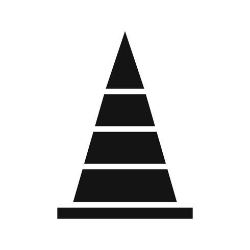 Cone ícone Vector