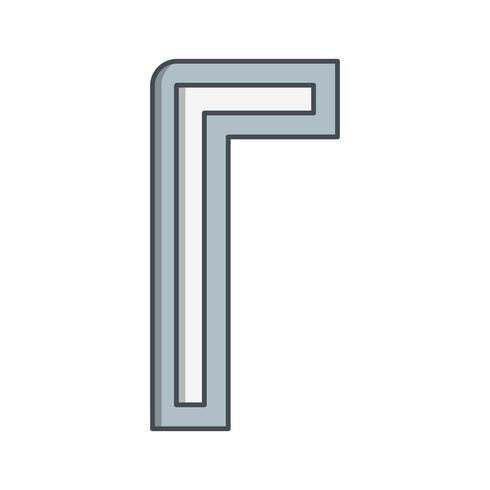 icône de vecteur allen