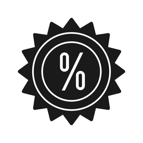 Vector Discount Icon
