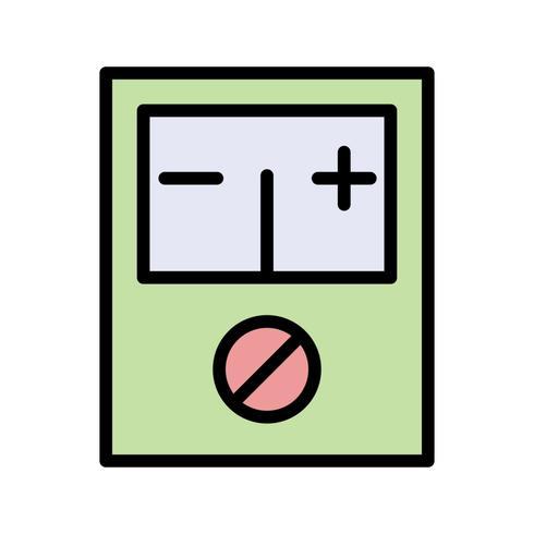 Voltmeter Vector Icon
