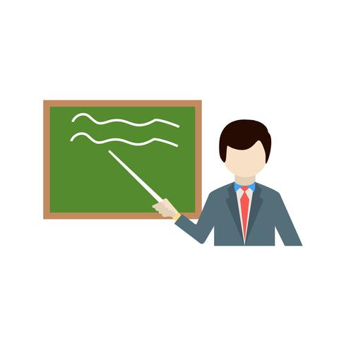 vektor undervisning ikon