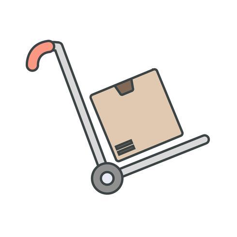 Vector Trolley Icon