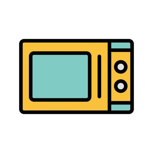 Magnetron Vector Ovenpictogram