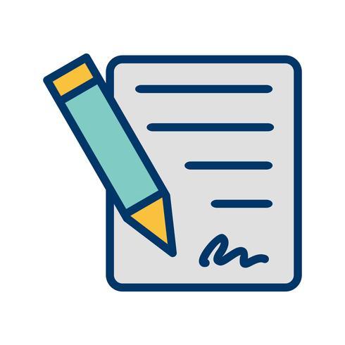 Contract Vector Icon