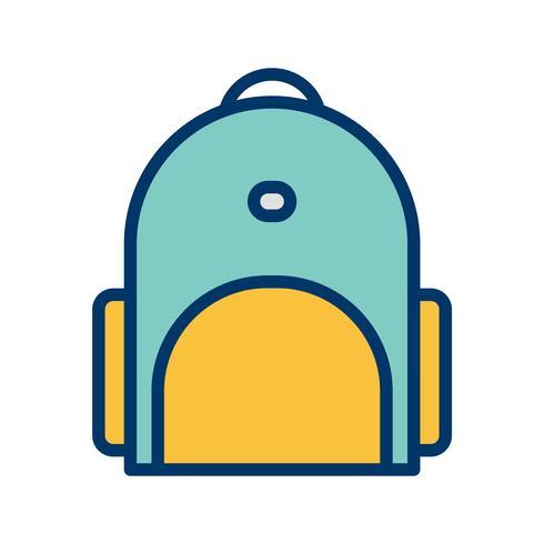 Vektor-Bagpack-Symbol