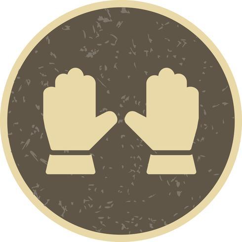 Icono de Vector de guantes
