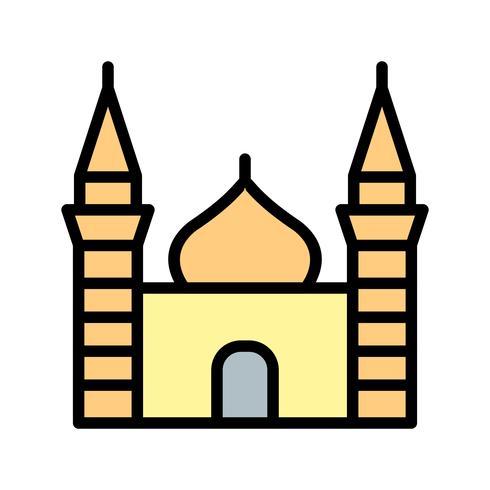 moské vektor ikon