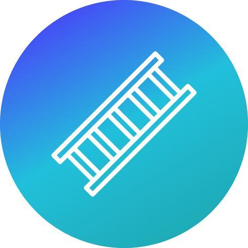Icono de vector de escalera