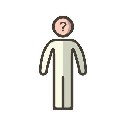 Icono de Vector de toma de decisiones
