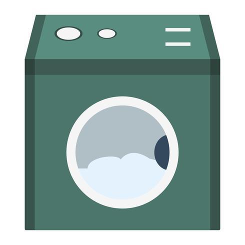 Ícone de vetor de máquina de lavar roupa