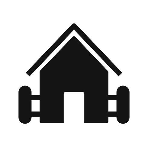 Farm House Vector Icon