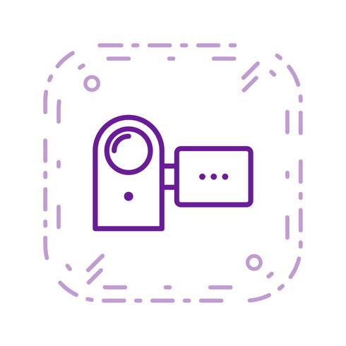Icono de Vector de cámara práctica