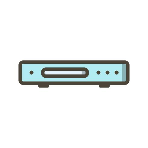 Dvd Player Vector Icon