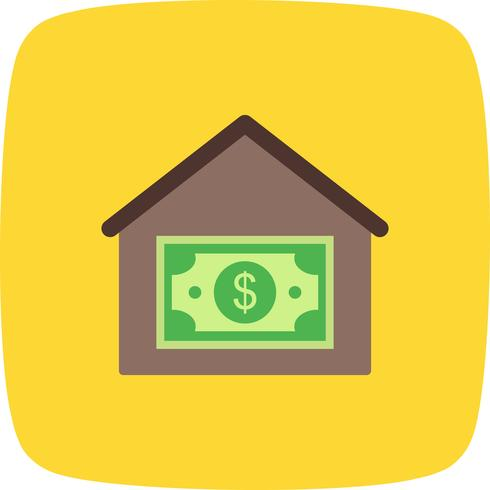 Ícone de vetor de preço de casa