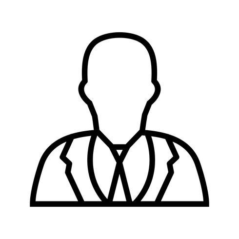 Icono de Vector de empresario