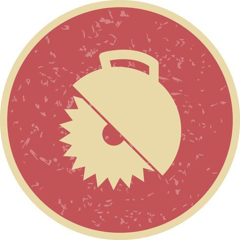 Sierra circular Vector icono