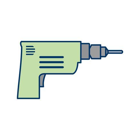 Icona di trapano vettoriale