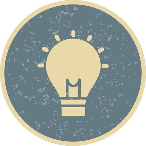 Icône de vecteur d'idée