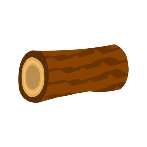 Icono de vector de madera
