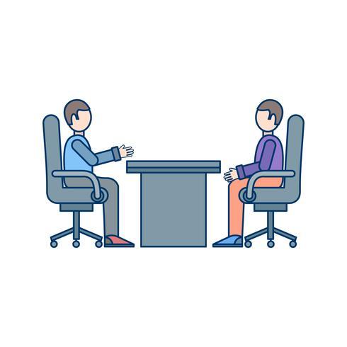 Icona di vettore di riunione