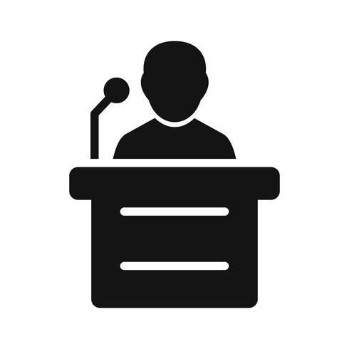 Speech Vector Icon - Download Free Vector Art, Stock Graphics & Images