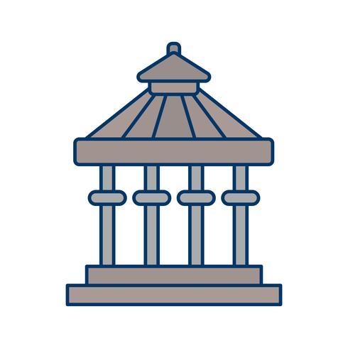 Ícone de vetor de varanda