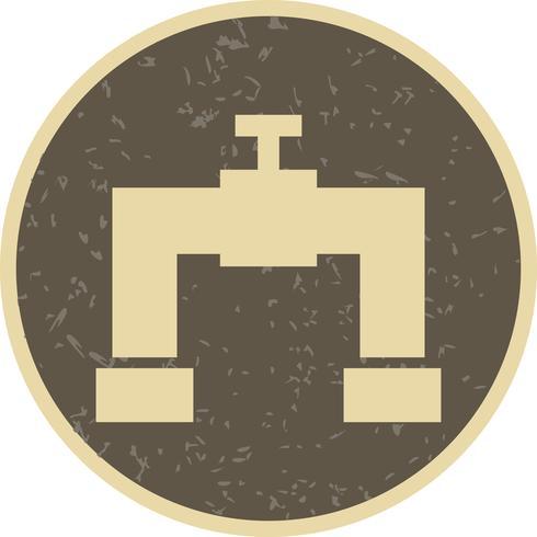 Rohr-Vektor-Symbol