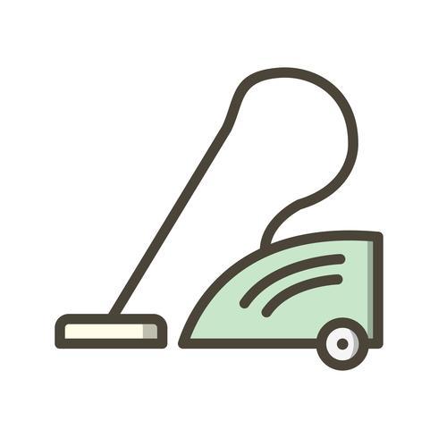 Icona di vettore dell'aspirapolvere