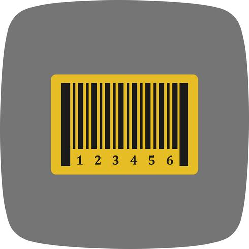 Vektor-Barcode-Symbol