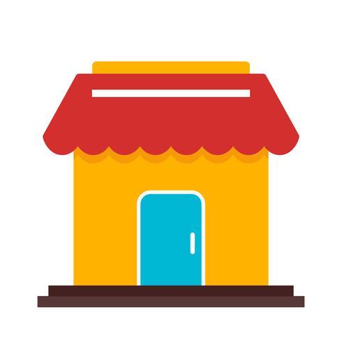 Icona del negozio di vettore