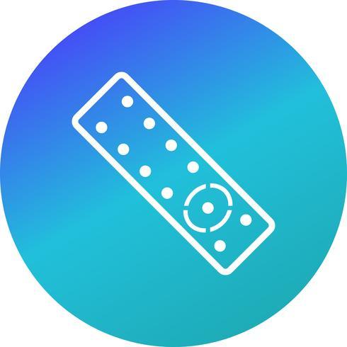 Icono de vector remoto