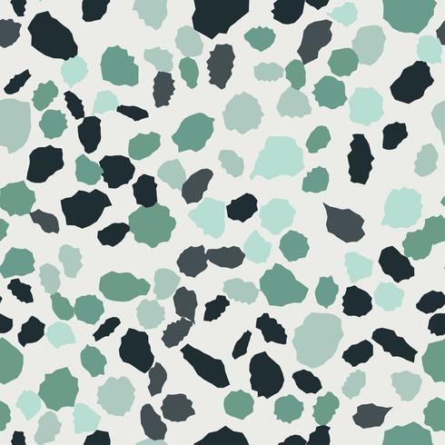 Terrazzo naadloos patroon. Imitatie van een Venetiaanse stenen vloer