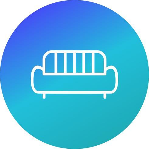Canapé Vector Icon