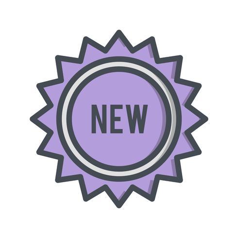 Vector Nuevo Icono