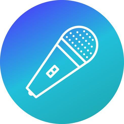 Icona di vettore del mic