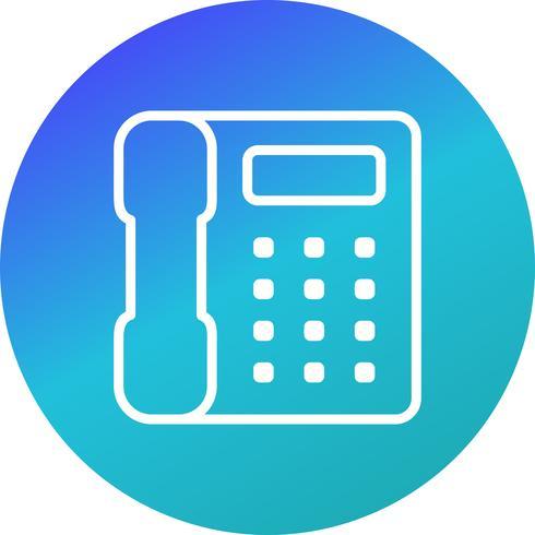 Icône de vecteur de téléphone