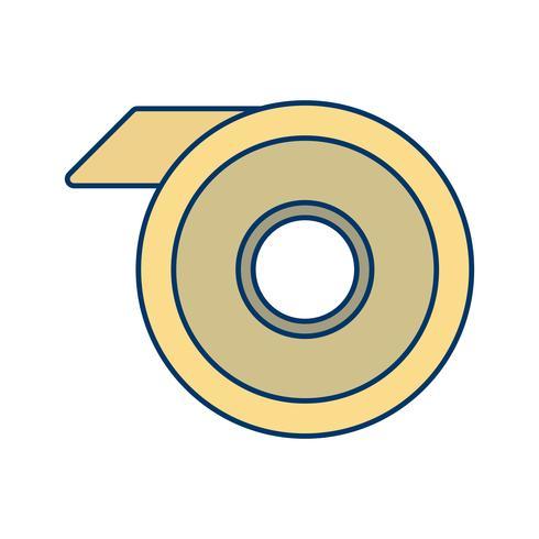 icono de vector de cinta