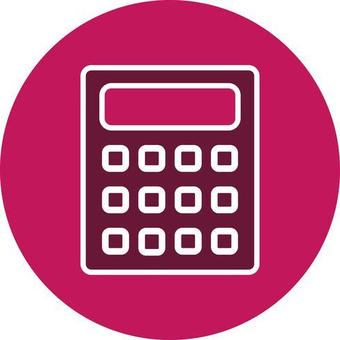 Ícone de calculadora de vetor