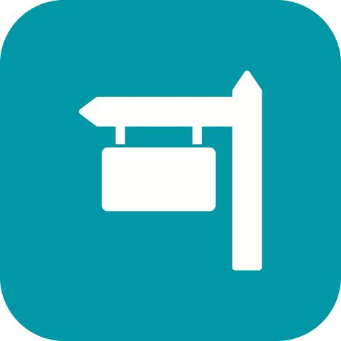 Icono de vector de tablero de la muestra