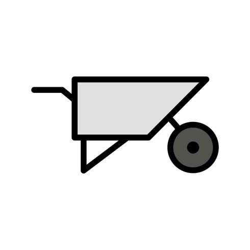 Icono de Vector de carretilla