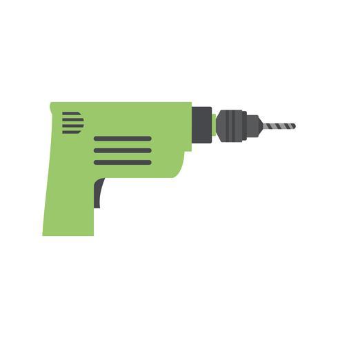 Icono de vector de taladro