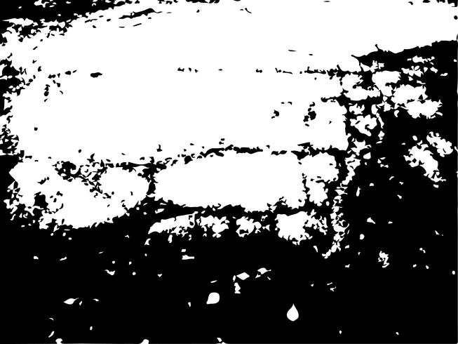 Grunge Black and White Distress Texture . vector