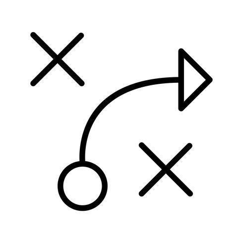 Taktik-Vektor-Symbol
