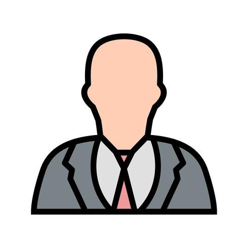 Empresário Vector Icon