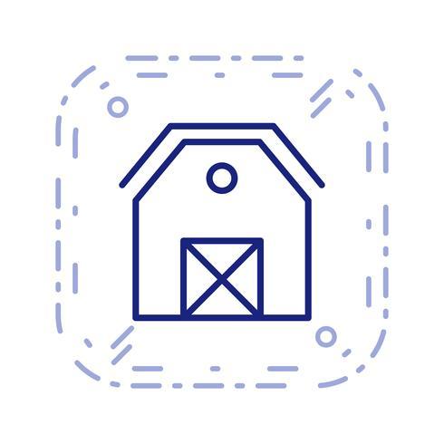 Schuur Vector Icon