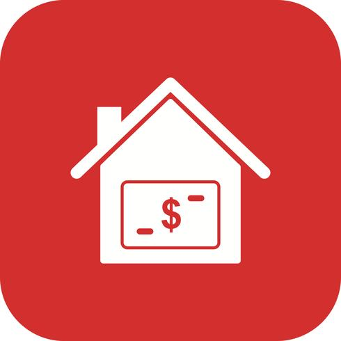 hus pris vektor ikon